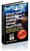 back pain remedy