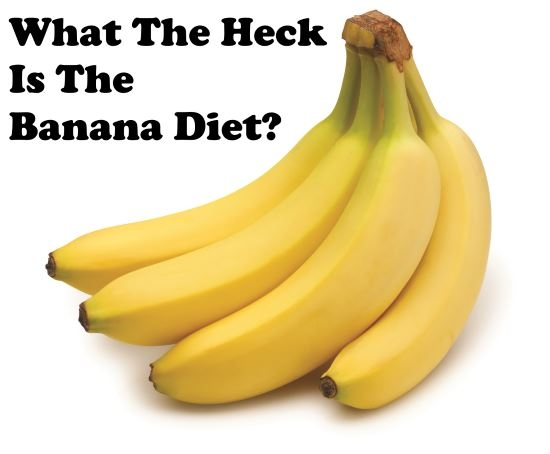 Banana Diet for Weight Loss? Does This Make Sense?