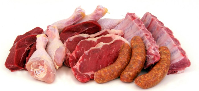 high protein diet food like meats