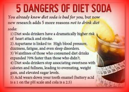 diet soda danger