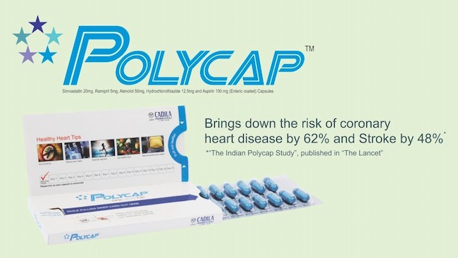 polycap to lower risk of heart disease