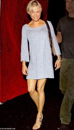 Renee Zellweger Chicken Legs