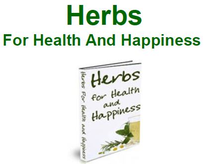 herbs health and happiness
