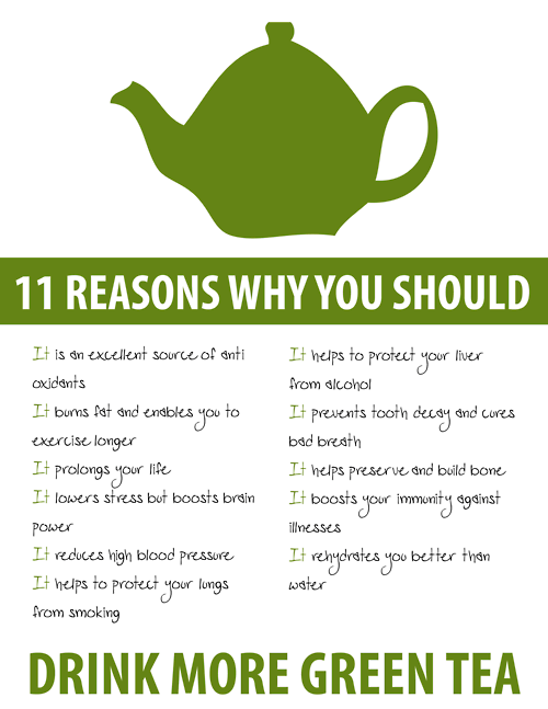 why you should drink more green tea