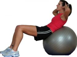 Lots of Exercises with Exercise Balls