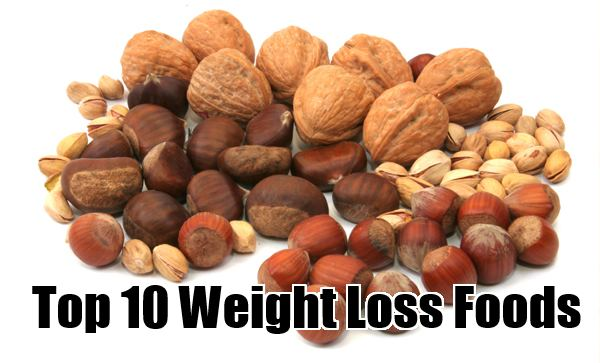 top 10 weight loss foods
