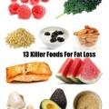 13 killer weight loss foods