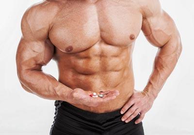 athlete taking antioxidants