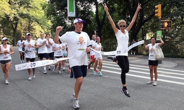 Heidi Klum's Summer Run 2011