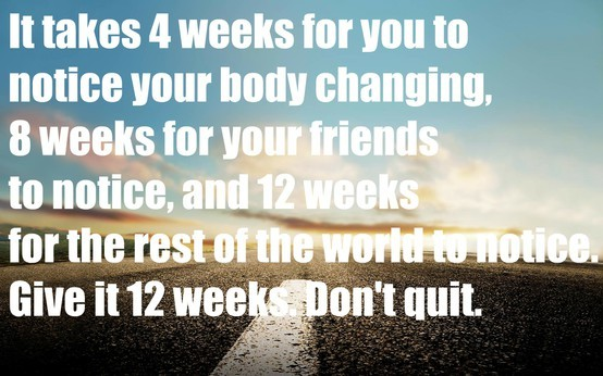 12 weeks to change you life