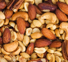 Nuts and seeds in a healthy diet