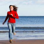 running-beach