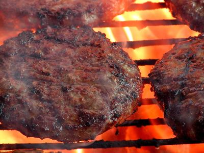 BBQ burgers are not vegetarian