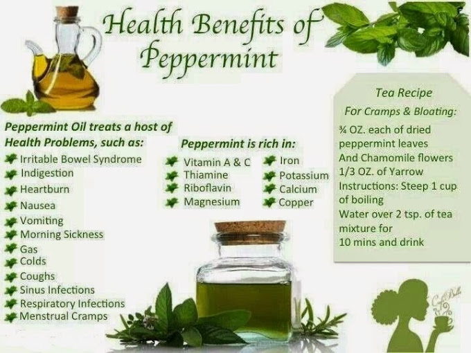 Great Health Benefits of Peppermint