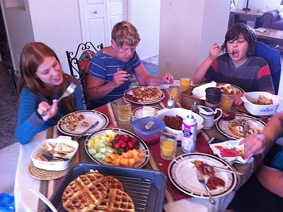 Dieting and Family Get Togethers
