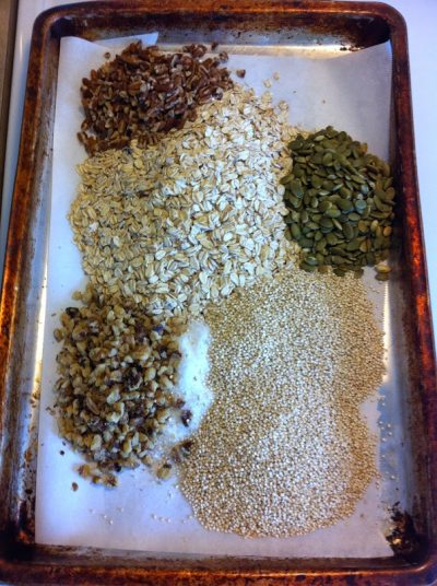 first granola bar ingredients