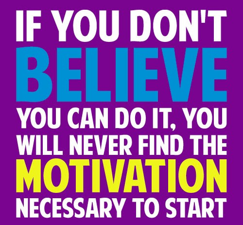 believe and motivation