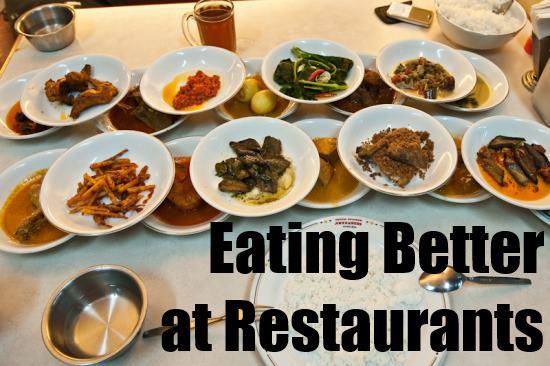 eating better at restaurants