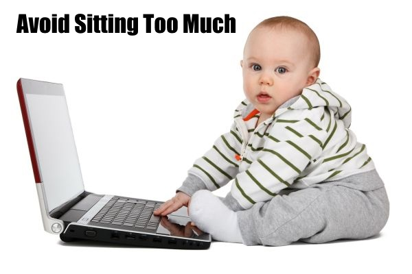 sitting to much