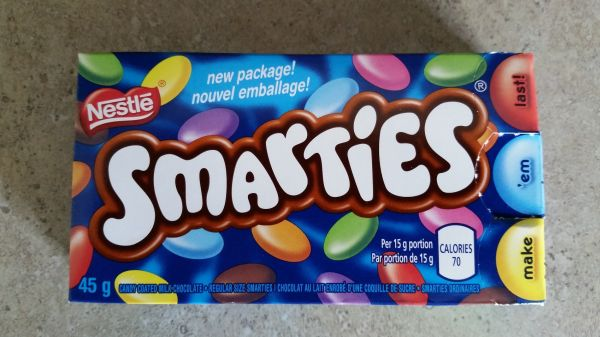 Smarties and More Deceptive Marketing Smarties Calories