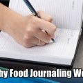 why food journalling works
