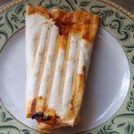 Salsa Egg and Cheese Breakfast Burrito