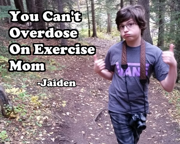 jaiden and exercise