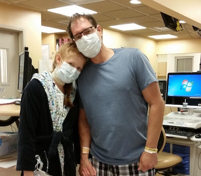 Billy and Taylor post transplant