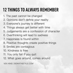 Lifestyle Tips To Always Remember