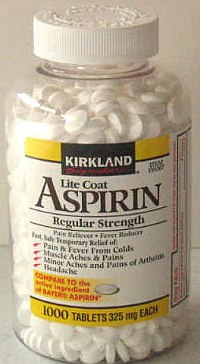 Aspirin uses and a Q and A