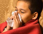 How is the flu transmitted?