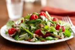 Raspberry Turkey Salad