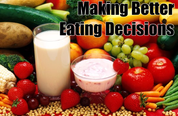 Making better eating decisions