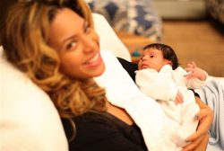 Beyonce and Baby