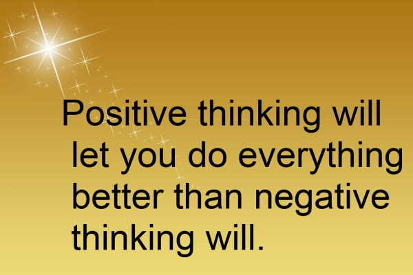 postitive thinking