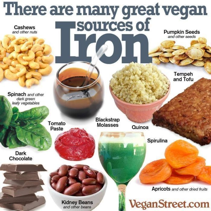 Vegan Sources of Iron