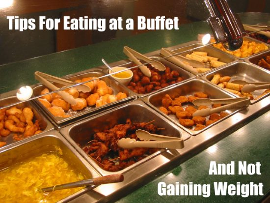 Eating at a buffet can be dangerous for your health! But a little planning can of course help