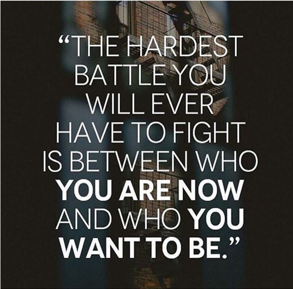 Your Own Hardest Battle