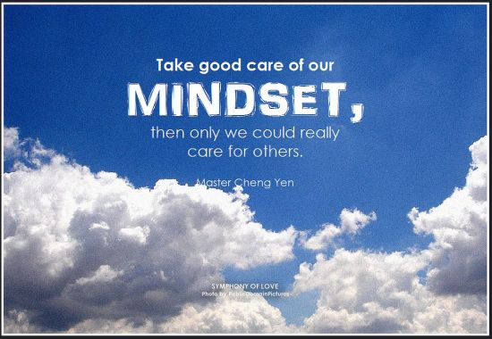 take care of your mindset