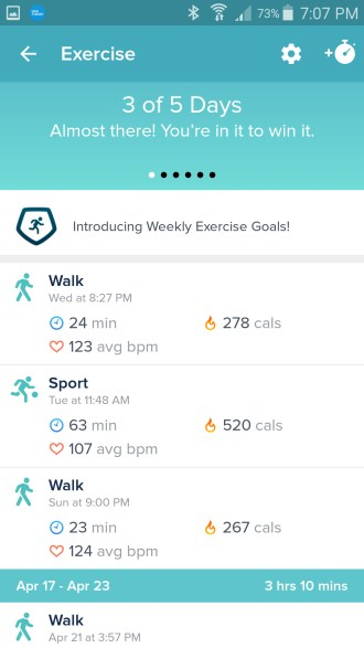 New Fitbit Features on Apple and Android