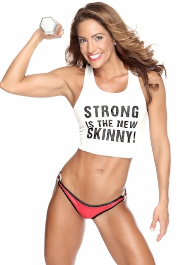 Weight lifting for women makes them strong and helps lose weight